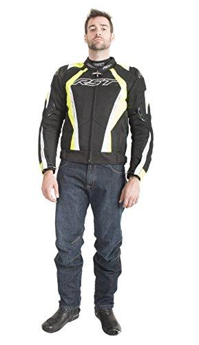 RST Pro Series 1723cpxc belüftet Herren Textil Motorrad Jacke Fluo Gelb