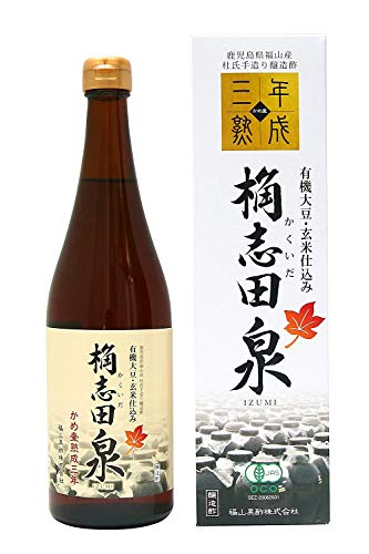 KAKUIDA Premium Organic Black Vinegar Aged 3 Years 24.34 Fl, Oz (720 ml)