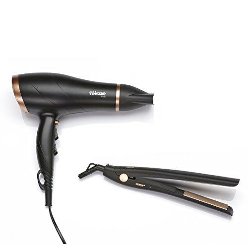 Tristar HD-2366 Geschenkset Haartrockner und Haarglätter