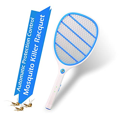 Pick Ur Needs® Best High Range Mosquito Racket/Bat with Torch with Wire Charging (Color as per Your Availability)