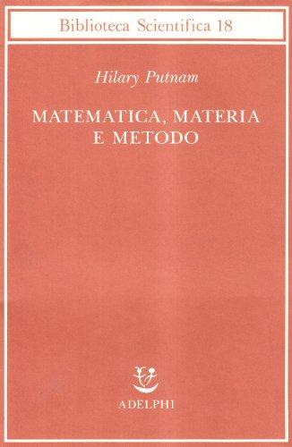 Matematica, materia e metodo