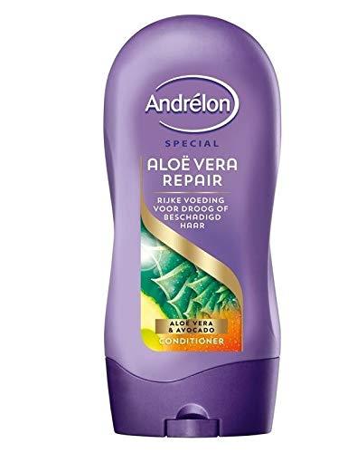 6er Pack - Andrelon Conditioner - Aloe Vera Repair - zur Reparatur und Pflege von strapaziertem Haar - 300ml