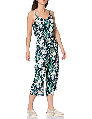 Vero Moda Vmsimply Easy Culotte Jumpsuit Wvn Ga Mono, Azul Marino, S para Mujer