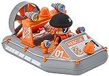 Pinypon Action- Lancha de Rescate de Policía con 1 Figurita, para niños y niñas a Partir de 4 años, Multicolor (Famosa 700015050)