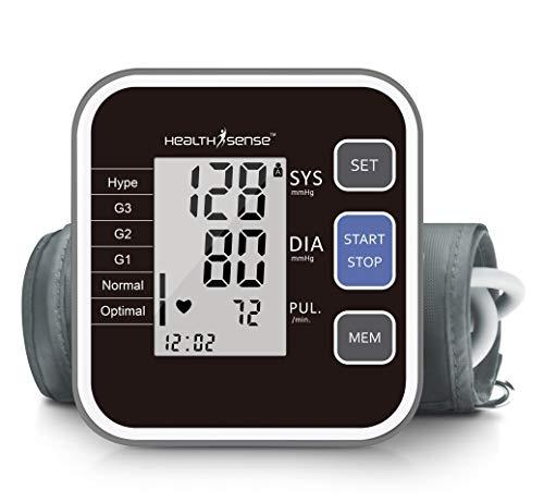 HealthSense Heart-Mate BP 120 Classic Fully Automatic Upper Arm Digital BP Monitor...