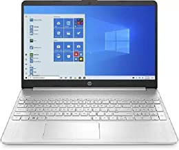 HP 15s-du2002tu 15-inch FHD Laptop (i3-1005G1/8GB/1TB HDD/Windows 10 Home/Integrated Graphics/1.75 Kg), Natural Silver