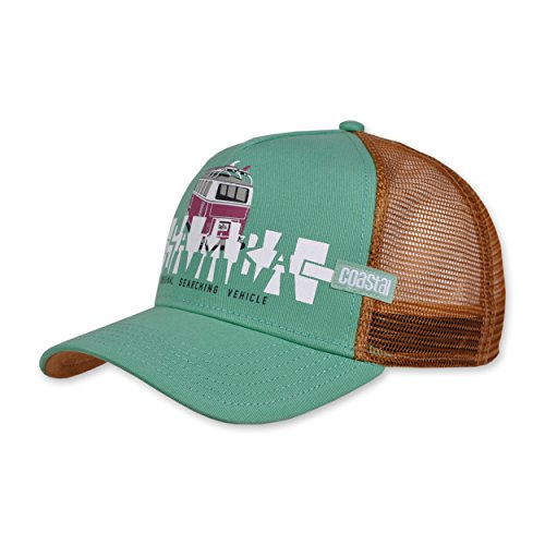 COASTAL - Samba (slate) - High Fitted Trucker Cap