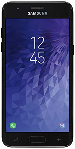 "Samsung Galaxy J3 2018 (16GB) J337A - 5.0"" HD Display, Android 8.0, 4G LTE AT&T Unlocked GSM Smartphone (Black)"