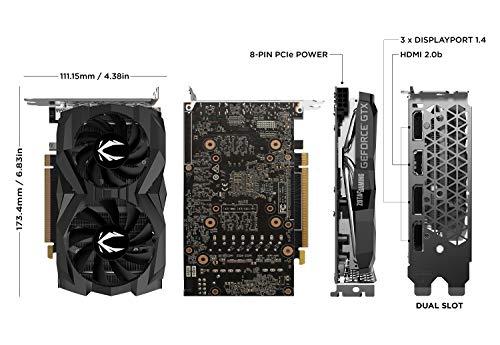 ZOTAC Gaming GeForce GTX 1660Ti Twin Fan 6GB GDDR6 Graphics Card