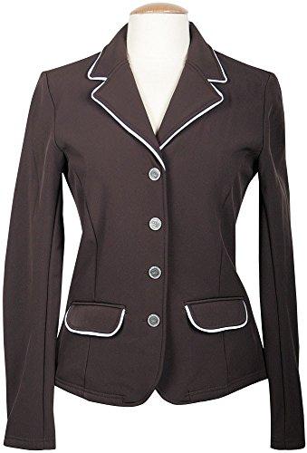 Harry's Horse Damen Turnierjacket Softshell St.Tropez-XXS, Braun