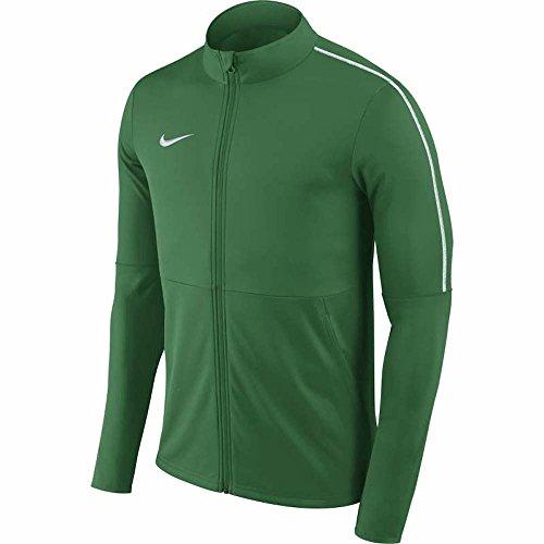 NIKE M Nk Dry Park18 Trk Jkt K Jacket, Hombre, pine green/white/white, S
