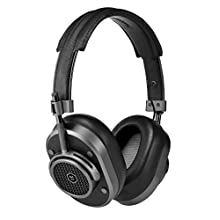 Master & Dynamic MH40 Wireless Over Ear Headphones - Noise Isolating with Mic - Professional Studio Headphones with Bluetooth Capability