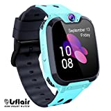 Children's Smart Watch Phone - Smart Watch for Boy Girl Music Kids Watch Funny Game HD Touch Screen Sports Kid Smartwatches with Call Camera Alarm Clock Music Player, Suitable for Aged 4-12(Blue)