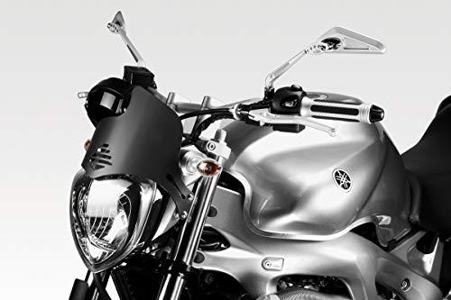 FZ6 Fazer 600 2004/07 - Kit Carenabris (R-0525B) - Parabrisas Lunas Cúpula de Aluminio - Tornillería Incluido - Accesorios De Pretto Moto (DPM Race) - 100% Made in Italy