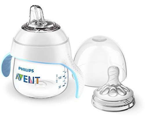 Product Image of the Philips Avent Natural Trainer Sippy Cup with Fast Flow Nipple and Soft Spout,...