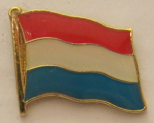 Pin Anstecker Flagge Fahne Luxemburg Nationalflagge Flaggenpin Badge Button Flaggen Clip Anstecknadel