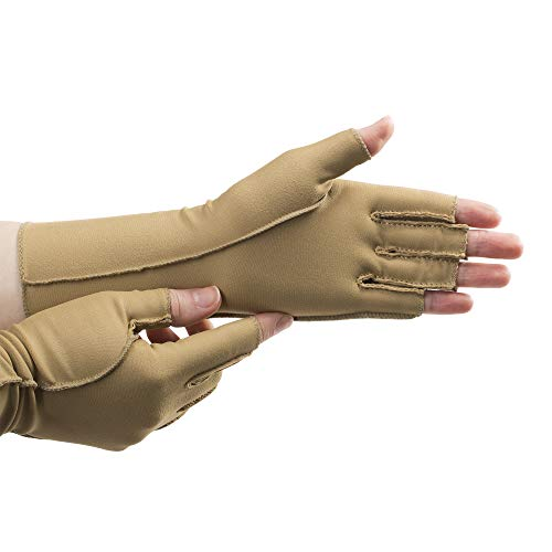 isotoner Open Finger Therapeautic Gloves