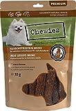 Fleischstreifen MINI Hundeleckerli aus 100 % Geflügelfleisch - 70 g - Snack für kleine Hunde - luftgetrocknete Geflügel Kaustreifen - hypoallergen & getreidefrei - Geflügel Dörrfleisch