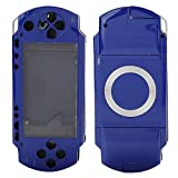Mavis Laven, Cubierta de Caja de Carcasa Completa para PSP, Juego de cáscara antirretorno de reemplazo con Juego de Botones para PSP 1000 cáscara de reemplazo (Azul)