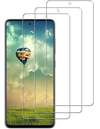 Panzerglasfolie Kompatibel mit Samsung Galaxy A51 Panzerglas,9H Hartglas Schutzfolie,Folie Anti-Kratzen und Anti-Fingerprint,Premium Glas Displayschutz [3 Stück]