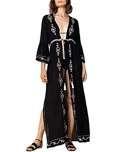 Orshoy Damen Baumwolle Kimono Cardigan...
