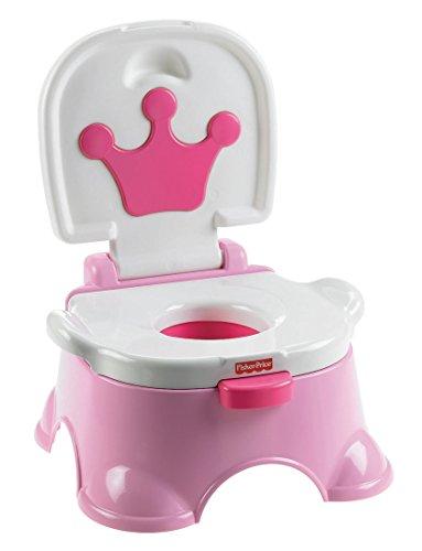 potty training potties Fisher-Price Pink Princess Stepstool Potty