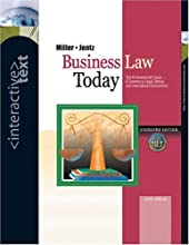 Interactive Text, Business Law Today with Access Certificate and Infotrac College Edition