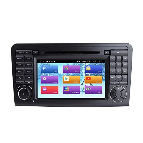 ZLTOOPAI 7 Zoll Android 10 Autoradio für Mercedes-Benz GL ML CLASS W164 X164 ML350 ML450 ML500 GL320 GL450 mit DSP IPS GPS WiFi Bluetooth Canbus GPS OBD DAB+