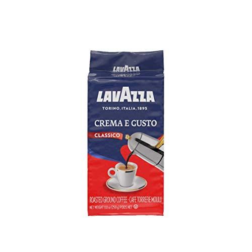 Lavazza Café Molido Crema e Gusto, Café Arábica y Robusta, Paquete de 4 x 250 g (Total: 1 kg)