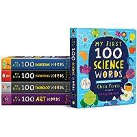 First 100 STEAM Words bundle [Board book]