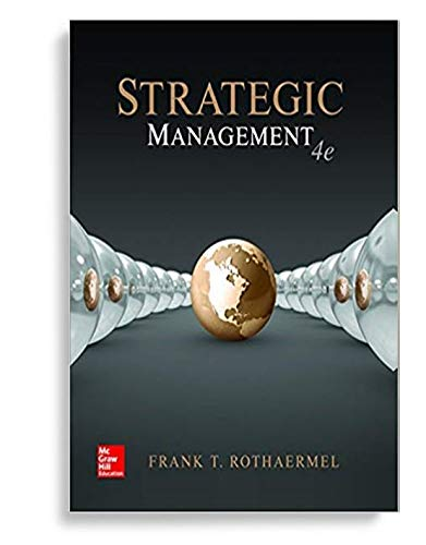 I.E. Strategic Management: Concepts (4th Edition), including Create Casebook Sampler