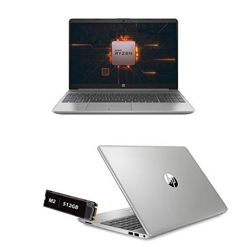 Notebook HP 255 G8 Amd Ryzen 5 3500U 3.7 Ghz Pantalla 15.6' Full HD, RAM 8 Gb Ddr4, SSD 512 Gb Nvme, HDMI, WiFi, LAN, Bluetooth, Webcam, Windows 10, Antivirus