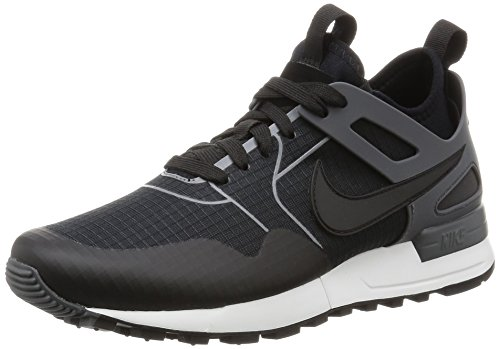 Nike Damen Air Pegasus 89 Tech Sneaker, Schwarz (Black/Black/Dark Grey/Summit White), 38 EU