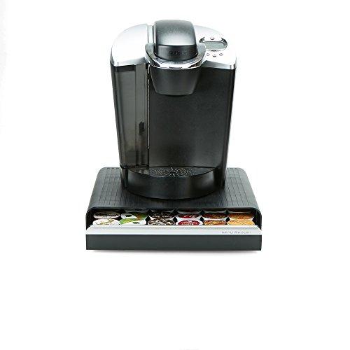 Mind Reader Hero Coffee Pod Drawer, One Size, Black