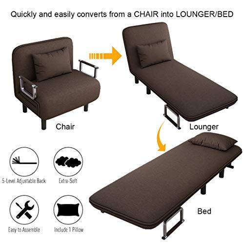 Folding Sleeper Arm Chair