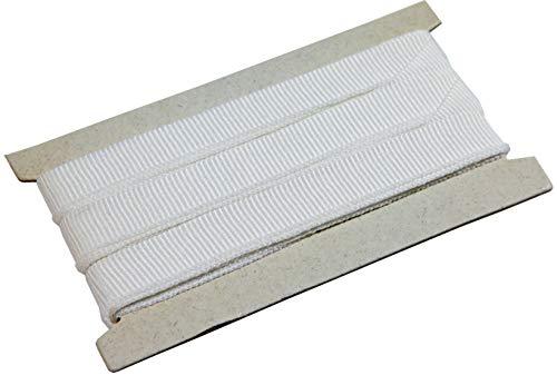 Windhager Raffband für Sonnensegel und Gardinen, Gardinenband, Kräuselband, Faltenband,Vorhangband, Reihband, 4m, 10702, weiß