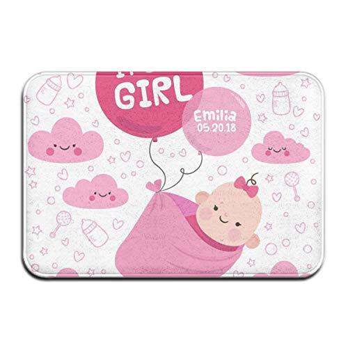 Antislip deurmat voor meisjes, collectie keuken, eetkamer, woonkamer, entree, huisdieren, tapijten