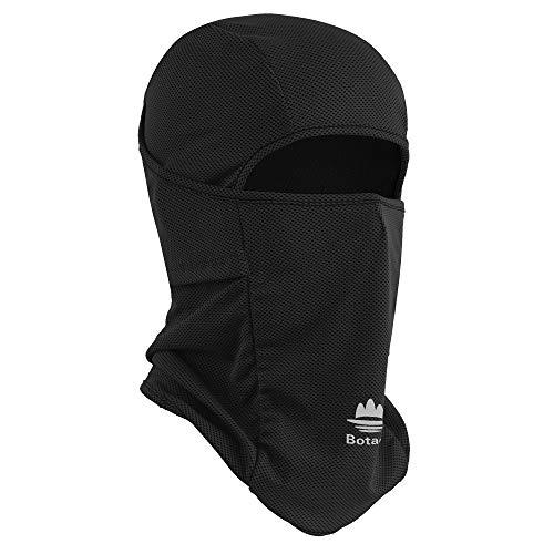Botack Sturmhaube Atmungsaktiv UV Schutz Balaclava Multifunktionstuch Gesichtsmaske Schlauchschal für Motorrad Fahren Laufen Wandern