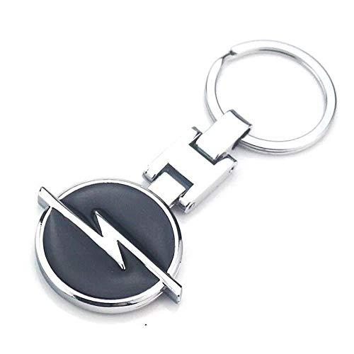 Fitracker 3D-Auto-Logo Metalllegierung doppelseitig Auto-Schlüsselanhänger, Zubehör mit Geschenk-Box