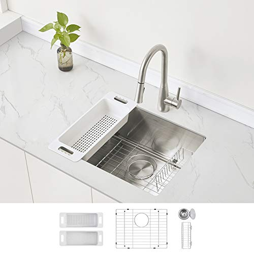 Modena Undermount Kitchen Sink Set,...