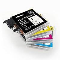 インクフルサポート LC11/16-4PK 互換インク プリンター保証付 ブラザー LC11 LC16 4色セット brother MFC-490CN 5890CN J615N 6490CN 735CD J800D 930CDN DCP-165C 385C J515N J715N 対応 1年保証付