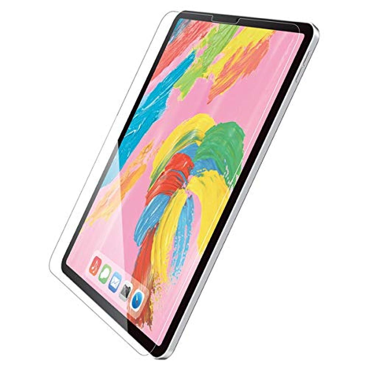 前者大事にするショットエレコム iPad Pro 11インチ 2018年モデル/保護フィルム/リアルガラス/0.33mm