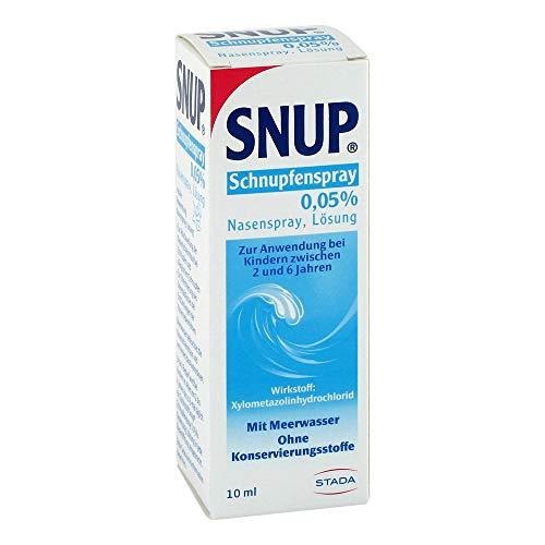 SNUP Schnupfenspray 0,05{e3206f0cfe496b3d4b8a7e30e6a5104d12248ae64dd2ea77f629c4c94d3e91bf} Nasenspray 10 ml