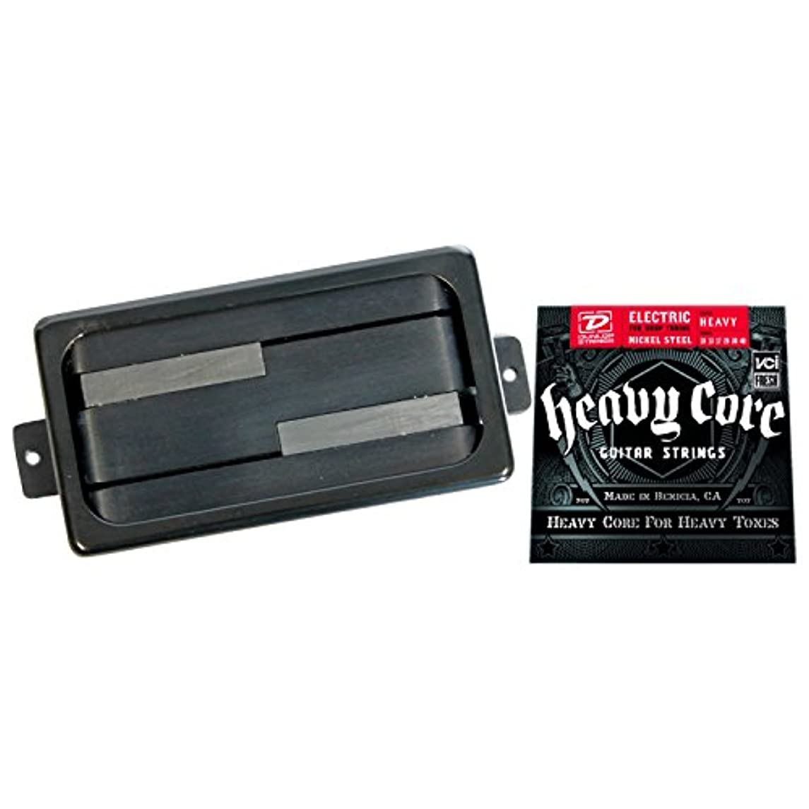 Lace Deathbucker Humbucker Pickup - Black Ring w/ Heavy Core Strings