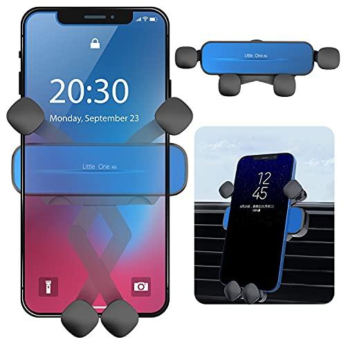 Soporte para teléfono de Coche Gravedad, Soporte Universal para teléfono de Coche con ventilación de Aire, Bloqueo automático, para iPhone 12 12Pro 11 X 8 7 6 Samsung S20 S9 HTC Sony Huawei P40