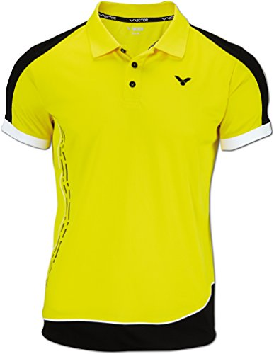VICTOR Polo Shirt Function, Yellow, M