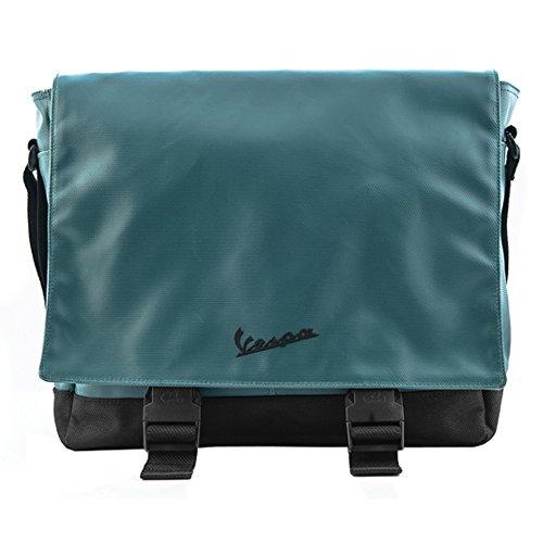 Vespa - Bolso al hombro para mujer verde verde