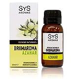 S&S Cosmetica natural Esencia BRUMAROMA SYS 50ml AZAHAR. Aceites Esenciales Naturales 100%, Aromaterapia para Humidificador y Difusor Aroma SPA, Masajes, Relajación. Brumizador.