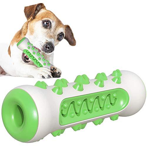 Kinderziektes Dog Toy kauwspeeltje tandenborstel, Treat Pet Training kauwen speel goed voor voedseldistributie, Stick Bone voor honden,Green