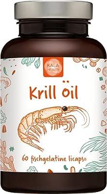 Kala Health - Superba Krill Oil Vegetarian Licaps® Capsules Omega-3, Omega-7 and Omega-9 Fatty Acids. (60)